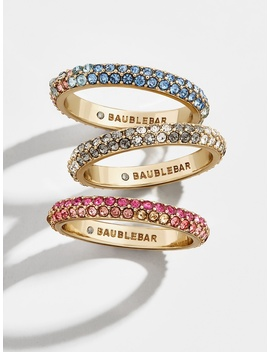 Adella Ring Set by Baublebar
