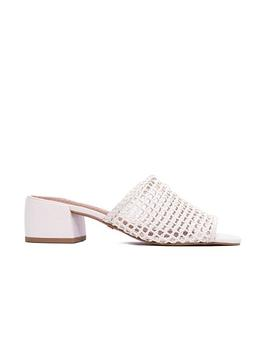 Dia Crochet Sandals White by L'intervalle