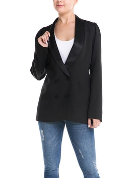 Oversized Tuxedo Blazer by Dor L'dor, New York