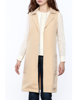 Sleeveless Trench Coat by Holictique, South Carolina