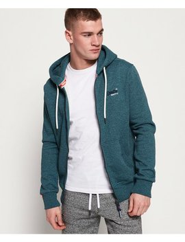 Orange Label Classic Zip Hoodie by Superdry