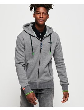Orange Label Hyper Pop Zip Hoodie by Superdry