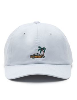 Almost Paradise Curved Bill Jockey Hat by Vans