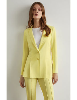 Pleated Peplum Jacket by Bcbgmaxazria