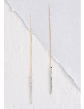Needle And Threader Earrings by Modcloth
