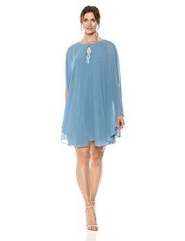 sl-fashions-womens-two-piece-caplet-with-rhinestone-beaded-sleeveless-dress by sl-fashions