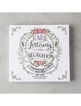 Hand Lettering For Relaxation by Terrain