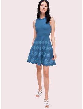Flora Hem Sweater Dress by Kate Spade
