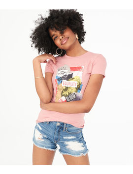 Let Equality Bloom Graphic Tee by Aeropostale