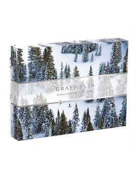 Gray Malin 500 Piece Double Sided Puzzle Snow Photography by Galison
