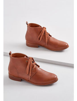 Strategic Style Desert Bootie by Modcloth