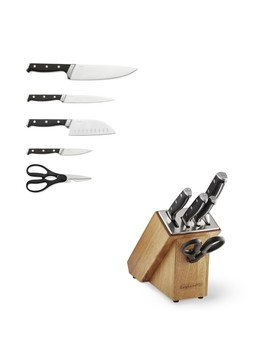 Calphalon Classic Sharp In 6 Piece Knife Block Set by Williams   Sonoma
