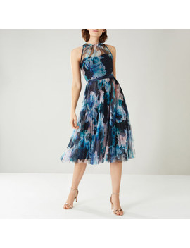 Jagger Tiered Mesh Dress by Coast