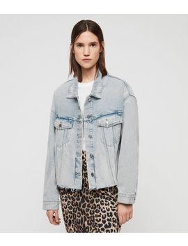 Piper Oversized Denim Jacket by Allsaints