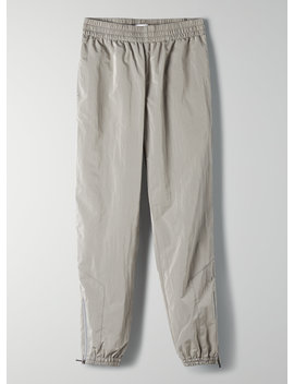 Dope Dyed Trackpant   Lightweight Nylon Track Pant by Tna