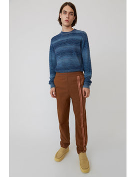 Sporty Trousers Brown/Ginger Orange by Acne Studios