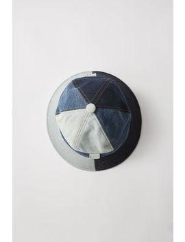 patchwork-denim-hat-indigo-blue by acne-studios