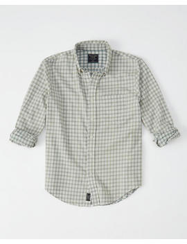 Washed Plaid Shirt by Abercrombie & Fitch