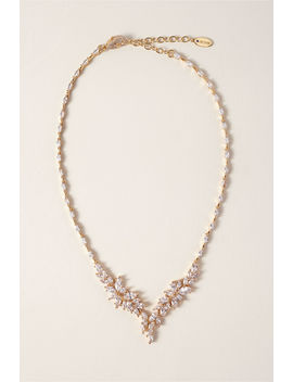 Crystal Wisteria Necklace by Bhldn