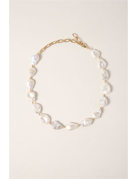 Mother Of Pearl Necklace by Bhldn