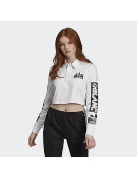 Rugby Polo Tee by Adidas