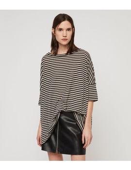 Plira Stripe T Shirt by Allsaints