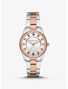 Colette Two Tone Watch by Michael Kors