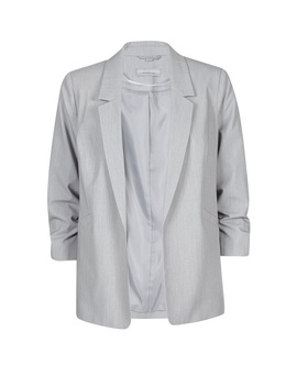 Petite Grey Ruched Sleeve Jacket by Dorothy Perkins