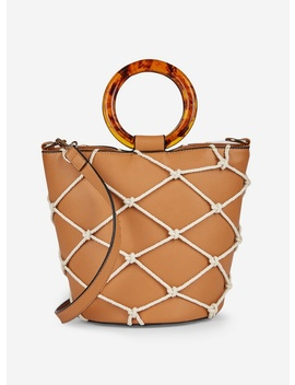 Tan Handle Bucket Bag by Dorothy Perkins