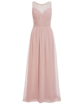 *Quiz Pink Embellished Maxi Dress by Dorothy Perkins