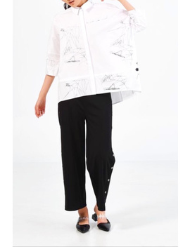 Abstract Printed Shirt by Didi's Boutique, Canada