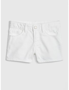 Superdenim Shortie Shorts In Stain Resistant by Gap
