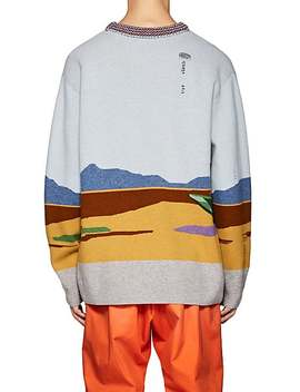 Wile E. Coyote Wool Sweater by Barneys Warehouse
