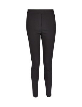 Black Mock Fly Pull On Skinny Trousers by Dorothy Perkins
