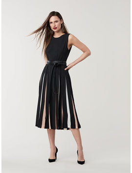 Talita Crepe Midi Dress by Dvf