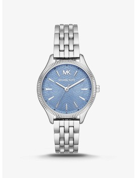 Mini Lexington Silver Tone Watch by Michael Kors
