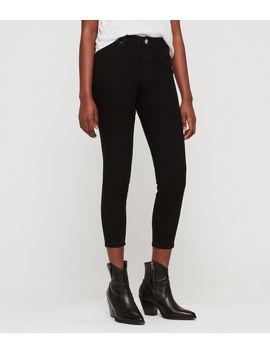 Roxanne Bistretch Cropped Skinny Jeans by Allsaints