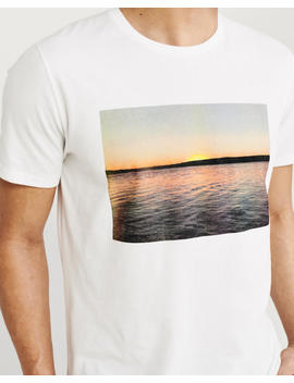 Print Photo Graphic Tee by Abercrombie & Fitch