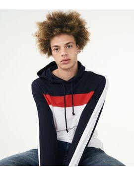 Colorbock Stripe Pullover Hoodie by Aeropostale