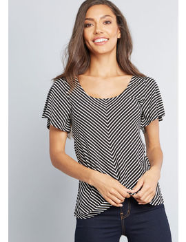 Sweetly Breezy Knit Top by Modcloth