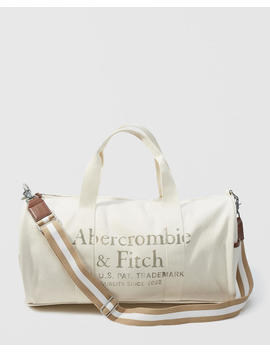Logo Duffle Bag by Abercrombie & Fitch