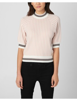 Diamond Jacquard Sweater Top by Juicy Couture