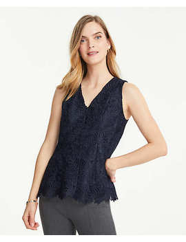 Lace Shell by Ann Taylor