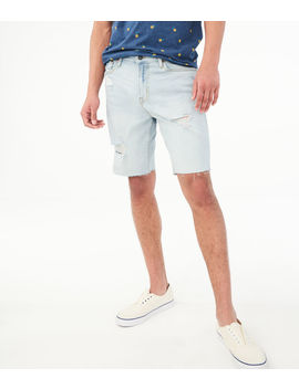 slim-denim-cutoff-shorts by aeropostale