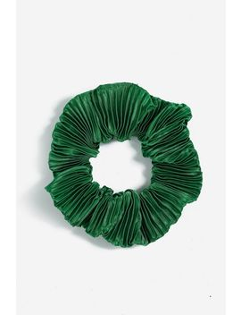 **Crinkle Hair Scrunchie by Topshop