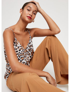 Everly Camisole   Leopard Print Camisole by Babaton