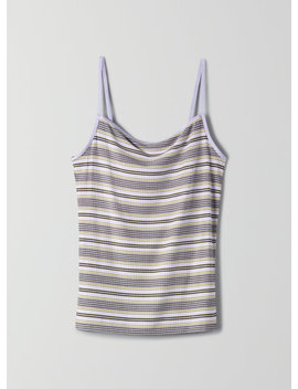 Laciann Tank   Striped, Ribbed Knit Tank Top by Wilfred
