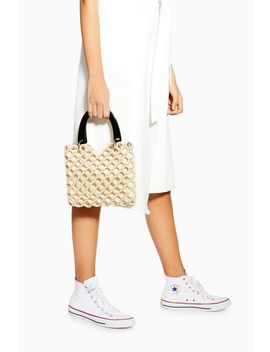 South Bead Mini Tote Bag by Topshop