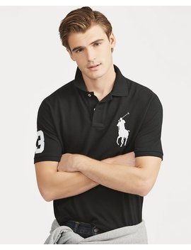 Big Pony Mesh Polo Shirt   All Fits by Ralph Lauren