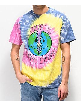 Teenage Nice Day Tie Dye T Shirt by Teenage